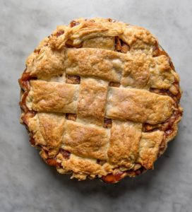 Thanksgiving Double apple pie, NYT Cooking