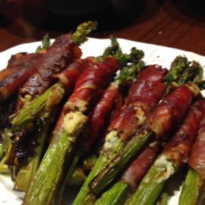 Prosciutto wrapped asparagus Intersection-M
