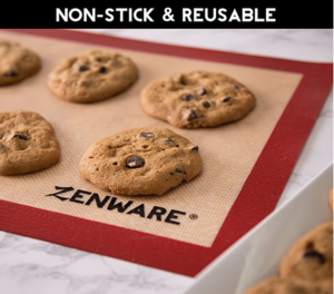 Silicone baking mats from Amazon