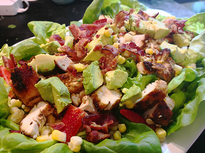 Grilled Chicken Summer Salad [and Tacos!]