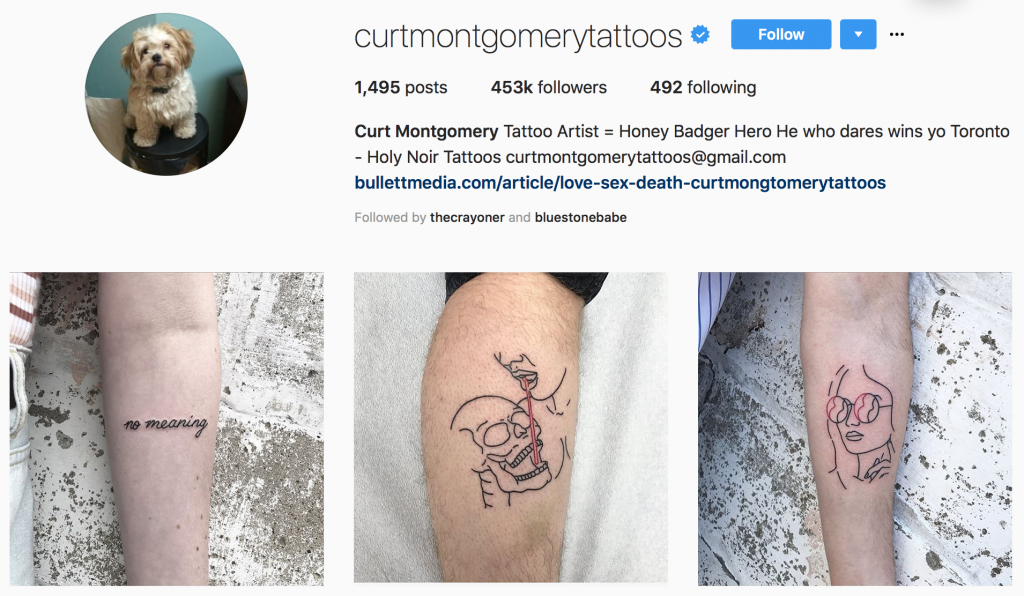 Women and Tattoos - Instagram tattoo inspiration from @curtmontgomerytattoos
