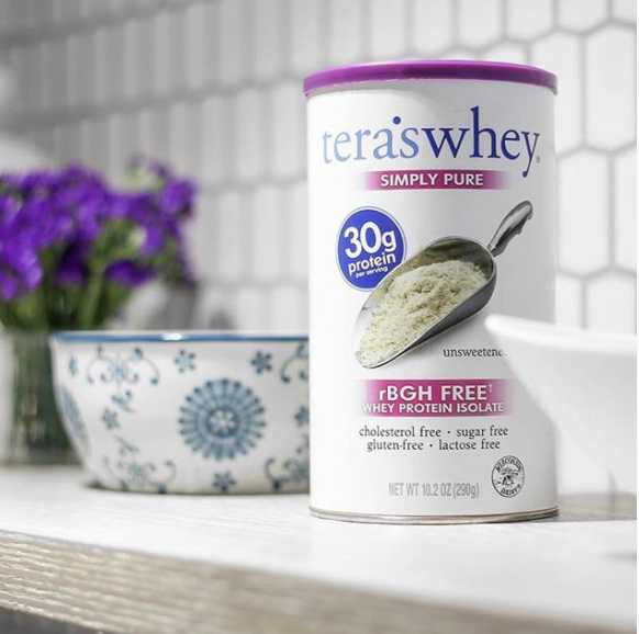 Tera's Whey pure protein powder for healthy foodies
