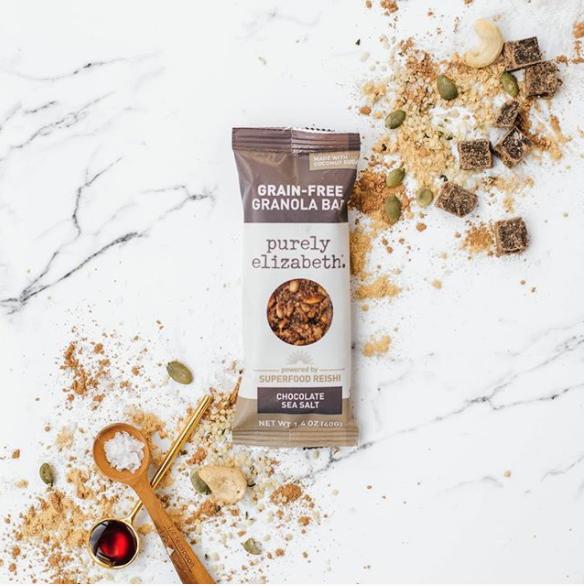 Purely Elizabeth Grain-Free Granola Bar for healthy foodies