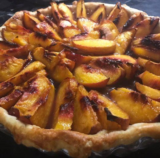 Summer Fruit Tart — Peaches, Nectarines, Oh My!