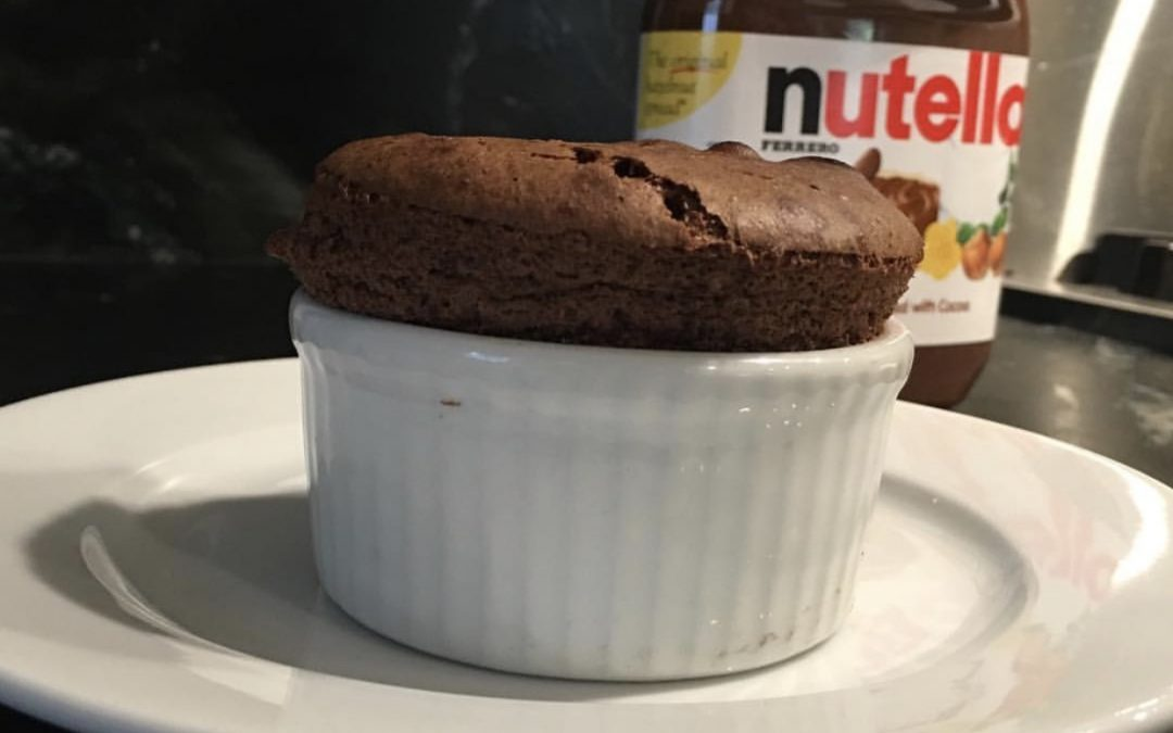Nutella Soufflé aka The Best Breakfast You'll Ever Make