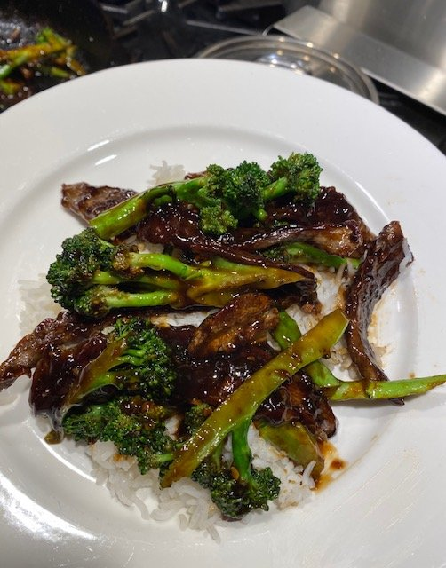 Sesame Beef and Broccoli recipe